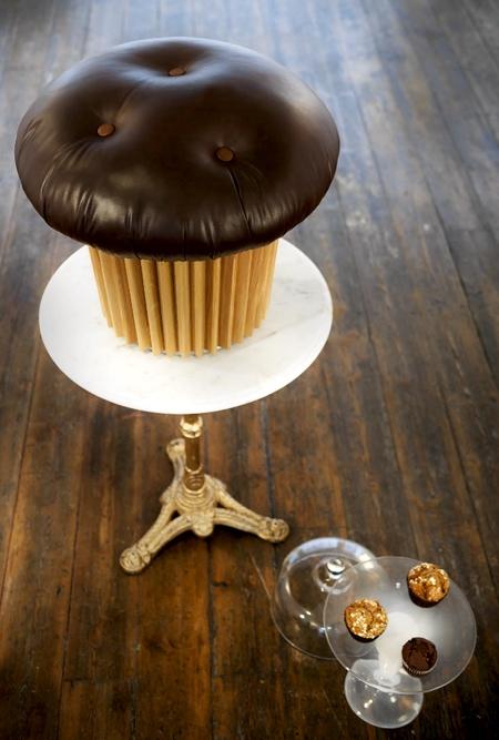 Matteo Bianchi Muffin Pouffe