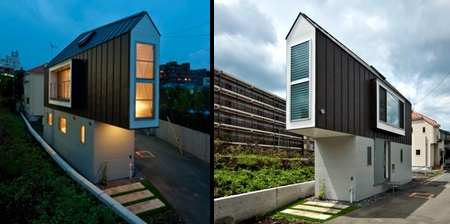 Narrow House in Japan
