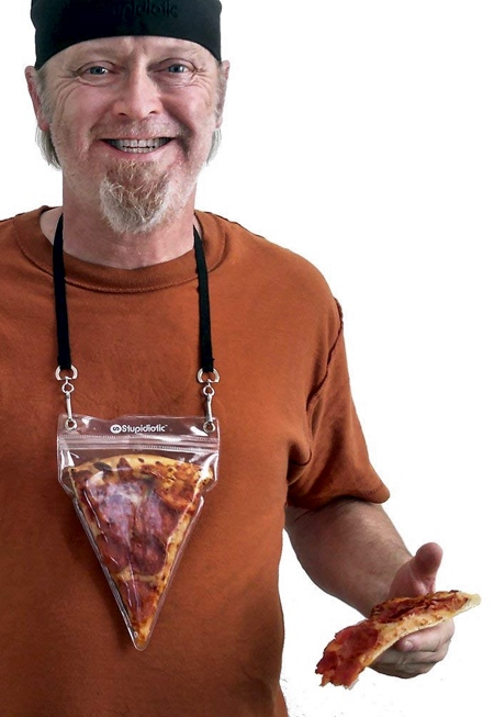 Stupidiotic Pizza Pouch