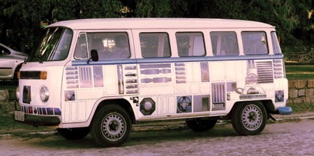 Star Wars R2-D2 VW bus