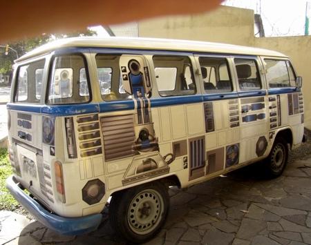 Star Wars VW bus