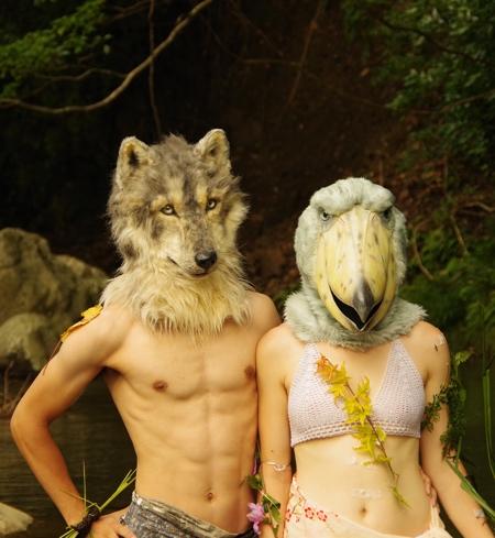 Kamonohashizokei Realistic Animal Heads