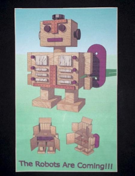 David Shackleton Robot Cabinet