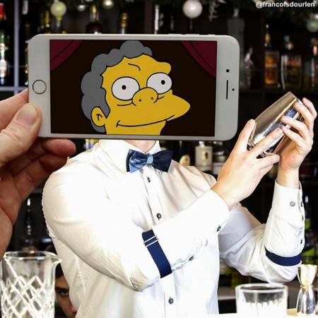 Francois Dourlen Simpsons Characters