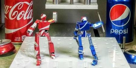 Soda Can Robots