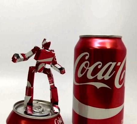 Coca-Cola Can Robot