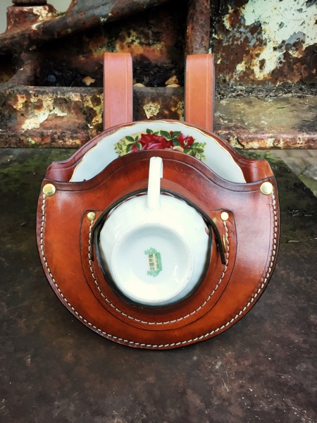 Leather Teacup Holster