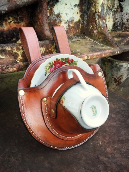 LeatherHeds Teacup Holster