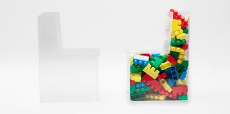 Transparent Storage Chair