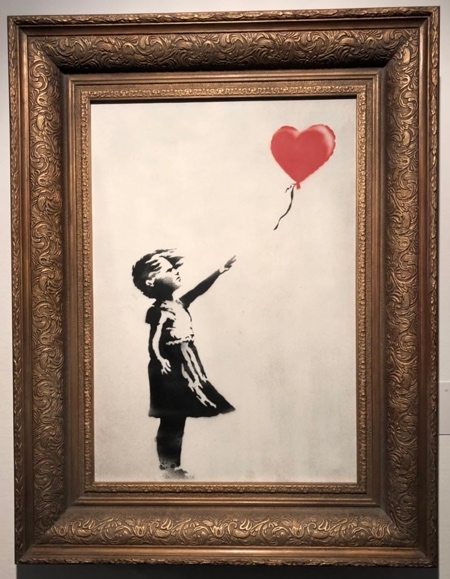 Banksy Shredder Painting