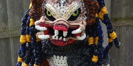 Crocheted Predator Costume