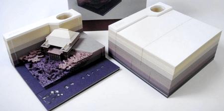 3D Block Memo Pad