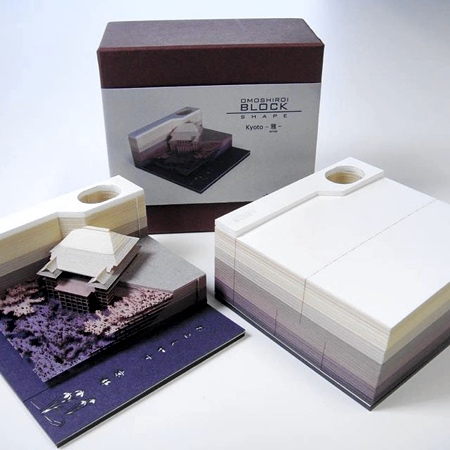 Omoshiroi Block Memo Pad