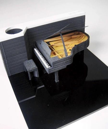 3D Block Note Pad