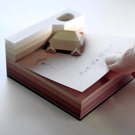 Omoshiroi Block Note Pad