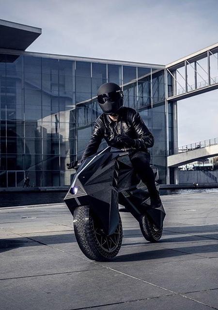 NERA 3D Printed Motorcycle