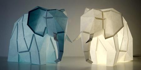 Animal Paper Lamps