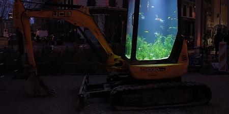Excavator Aquarium