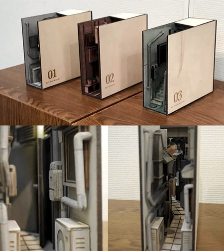 Back Alley Bookends