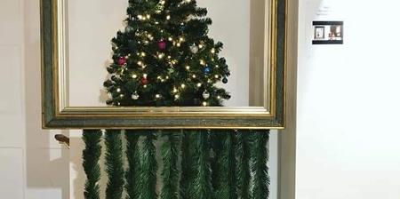 Banksy Christmas Tree