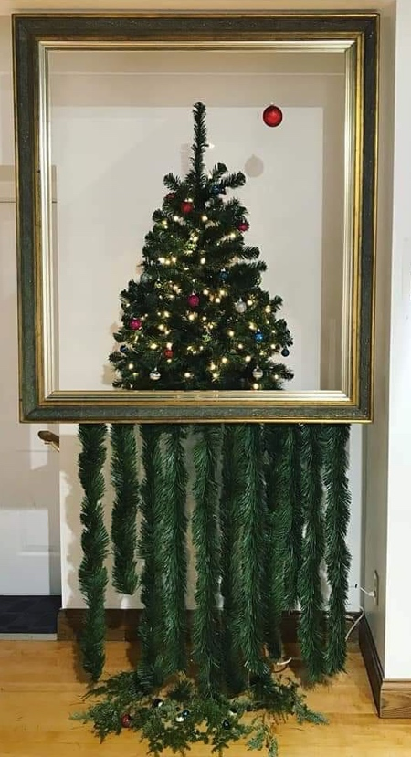 Banksy Painting Christmas Tree