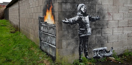 Banksy Season's Greetings