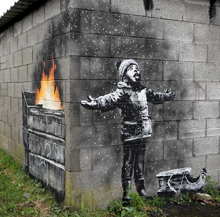 Seasons Greetings Street Art