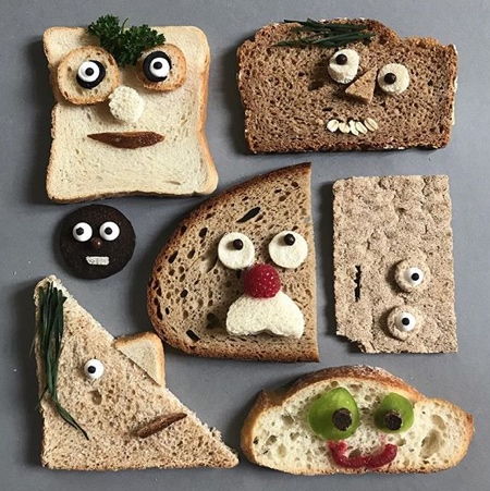 Bread Faces