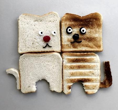 Sabine Timm Bread Art