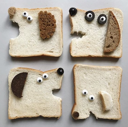 Sabine Timm Bread Characters