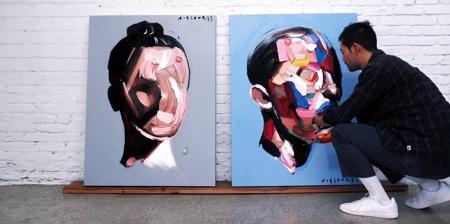 Brushstroke Portraits