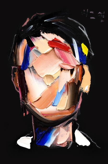 Brushstroke Portrait