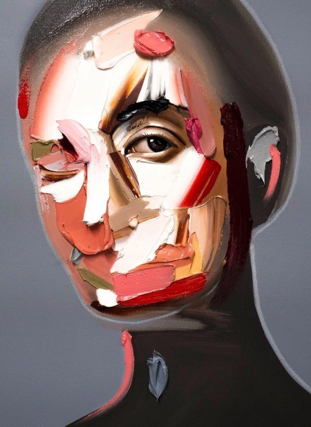 Joseph Lee Brushstroke Portraits