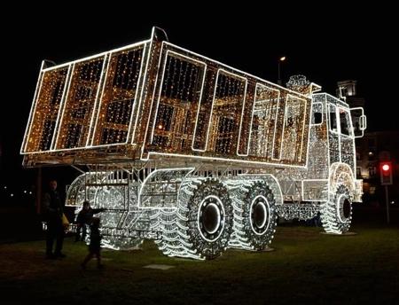 Christmas Truck in Belarus