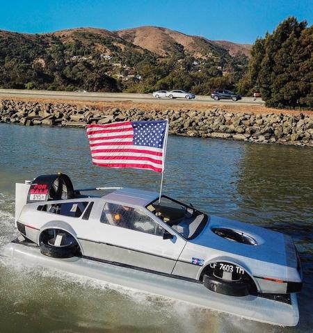 Delorean Boat