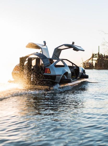 Back to the Future Delorean Watercraft