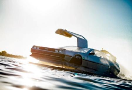 Back to the Future Delorean Boat
