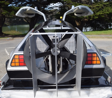 Back to the Future Hovercraft