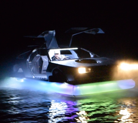 Back to the Future Hovercraft Boat