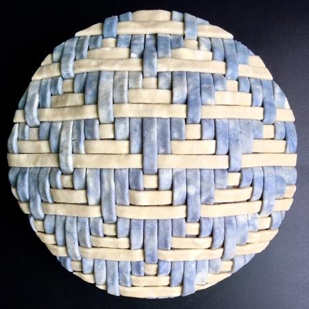 Geometric Pie Art