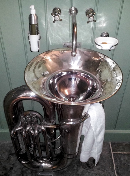 Musical Bathroom Sink