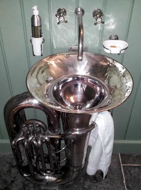 Musical Bathroom Sink