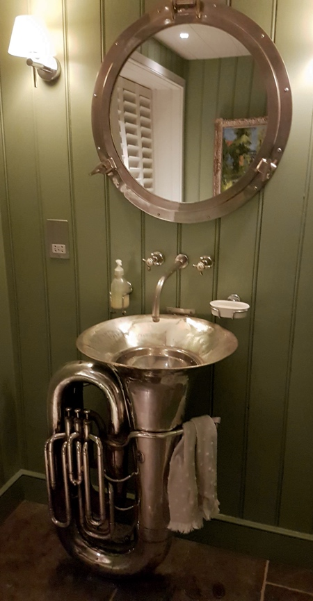 Music Bathroom