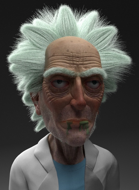 Old Rick and Morty