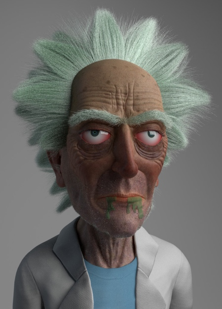 Old Man Rick Sanchez