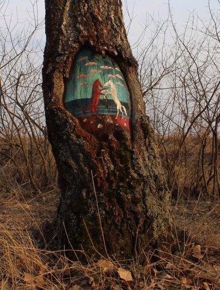 Painting on Trees