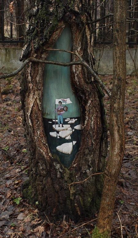 Paintings in Trees