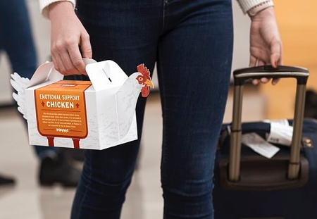 Popeyes Chicken Packaging