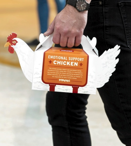 Popeyes Packaging