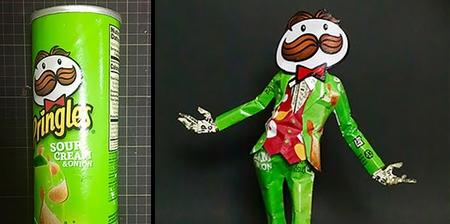 Pringles Sculptures